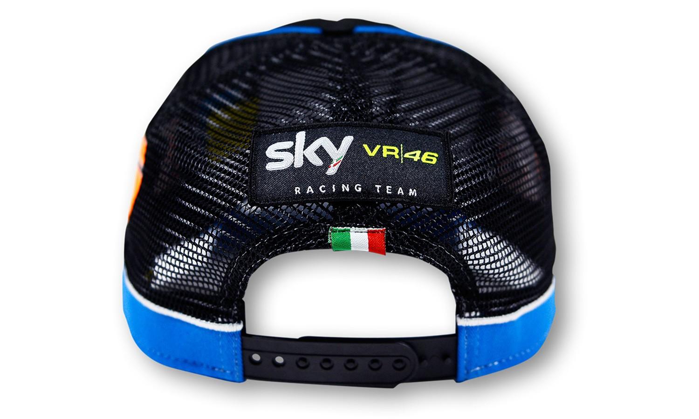 Czapka z daszkiem SKY VR46 Racing Team Migno Cap Black d38febf157b