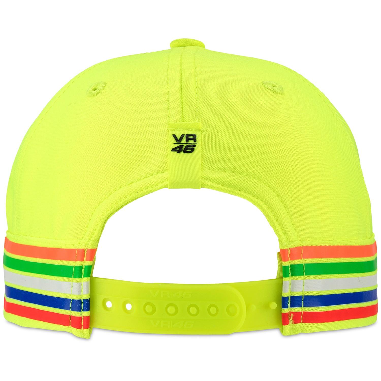 72997d39429 Czapka z daszkiem dziecięca VR46 Valentino Rossi KIDS 46 Cap THE DOCTOR Fluo -Yellow