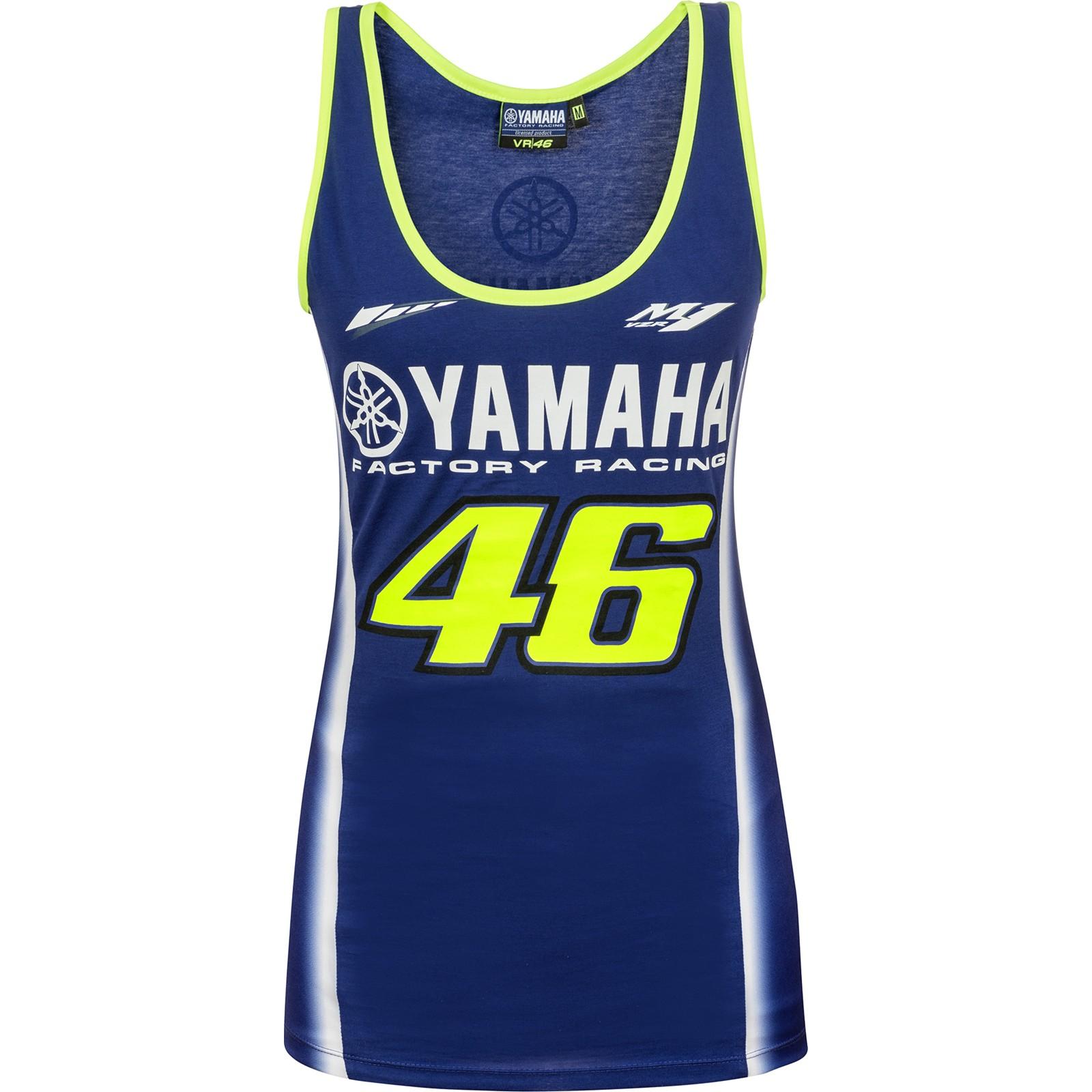 786a95df6b55b9 Koszulka na ramiączkach damska VR46 Valentino Rossi Yamaha Woman Dual  Tanktop Blue, Niebieska - YDWTT314409
