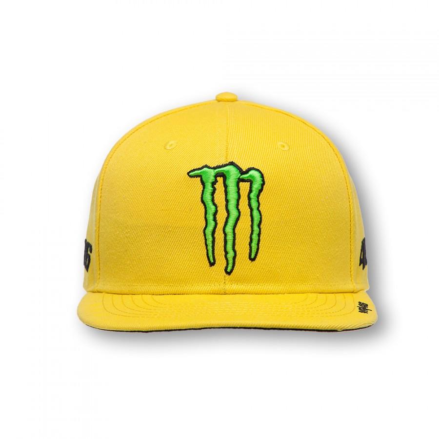 24928ba59c7 2016 OFFICIAL CAP Czapka z daszkiem VR46 YAMAHA Valentino Rossi MONSTER 46  Cap Yellow