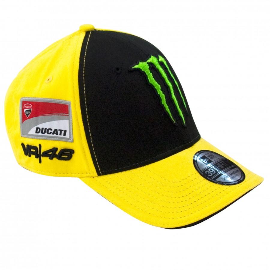 2731dc6fdaf Czapka z daszkiem VR46 Valentino Rossi New Era Sponsor Flexfit 39THIRTY  Monster Ducati - MCA410901U -